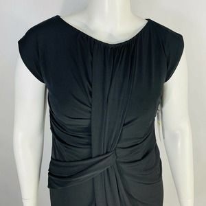 Suzi Chin for Maggy Boutique Dress 14 Pleated